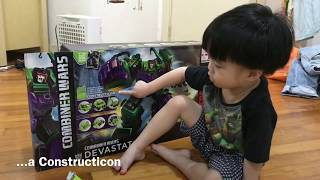 Massive Hasbro Transformer Generations Devastator Review