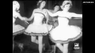 Mathilde Kschessinska - Dancing with her Students in Paris c1920s?