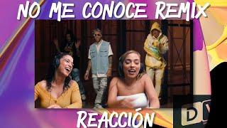 [Reaccion] Jhay Cortez, J. Balvin, Bad Bunny - No Me Conoce (Remix)   Just Vlogging   Dominivlog