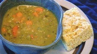 Split Pea Veggie Soup