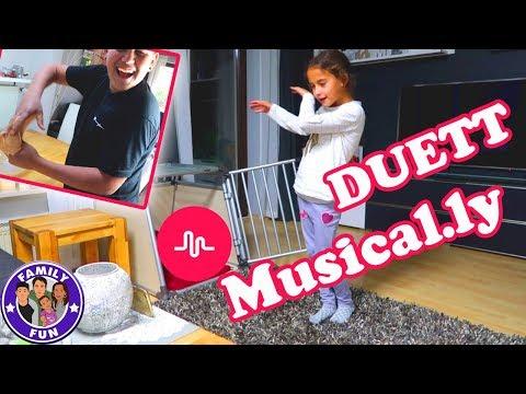 MILEYS MUSICALLY DUETT   DAS ERSTE MAL Vlog #130 Our life FAMILY FUN