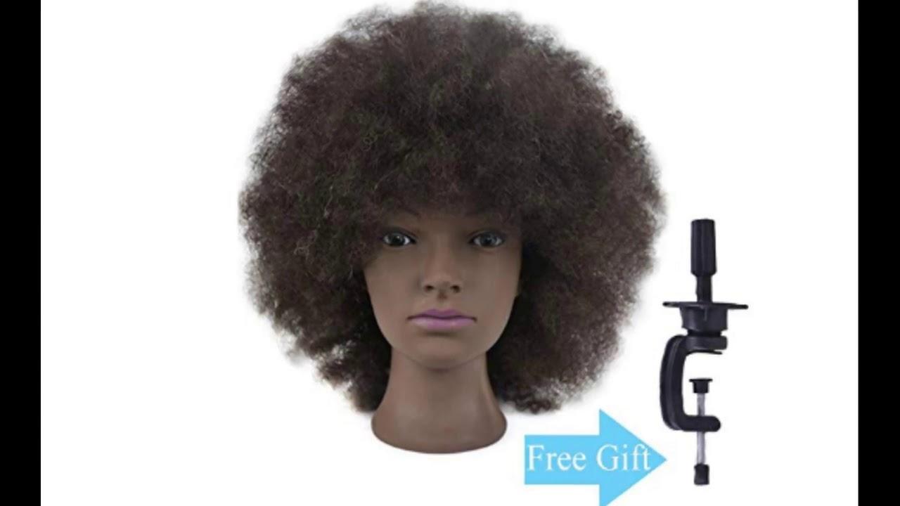 african american mannequin head