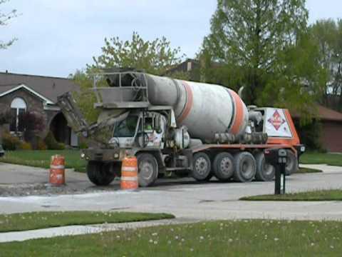 Oshkosh S Series Concrete Truck 2 Youtube