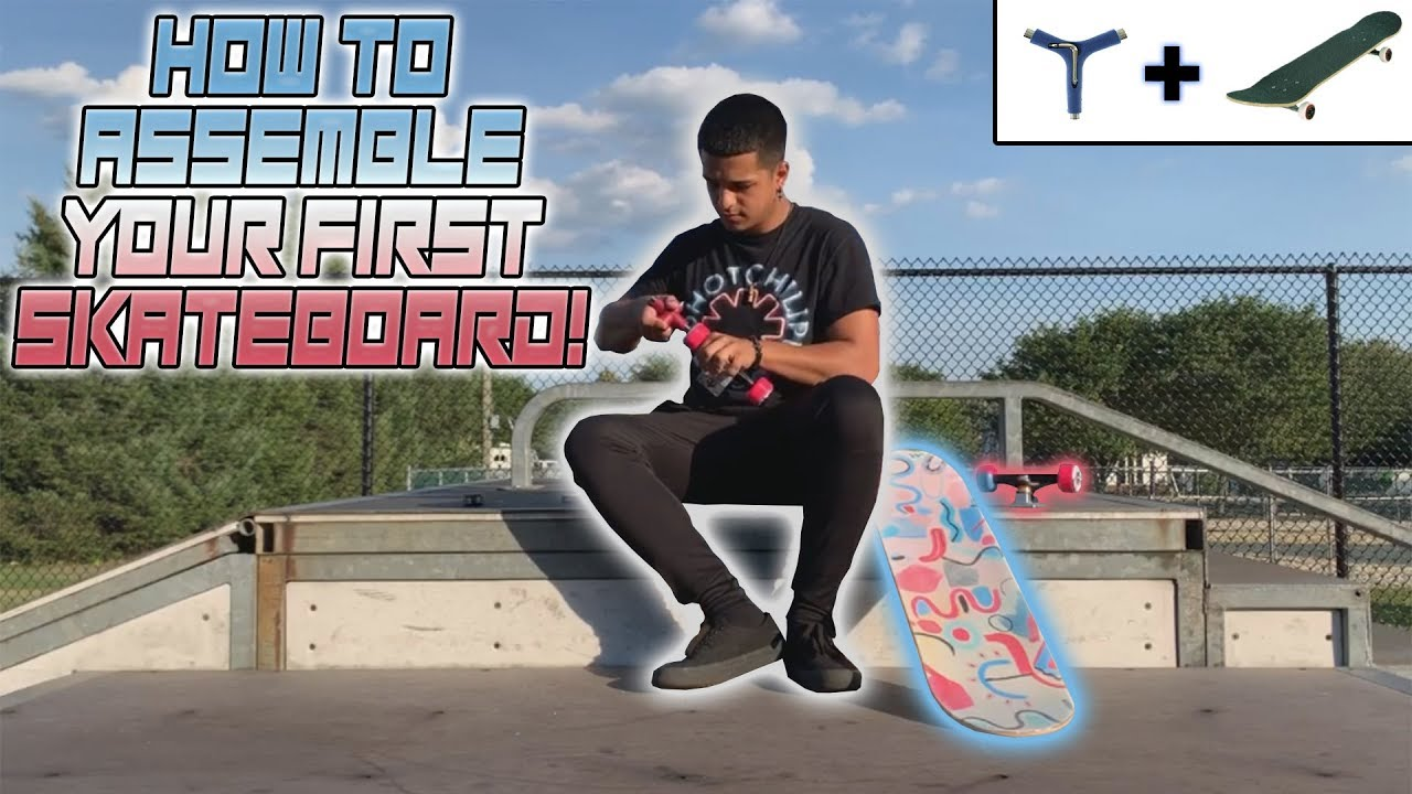 Download HOW TO ASSEMBLE YOUR FIRST SKATEBOARD! - (Step By Step with Trcks)