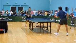 SNG 2014 Mixed Team Final, Men's Open Single. Duan Lian Zheng Vs Yang Zi