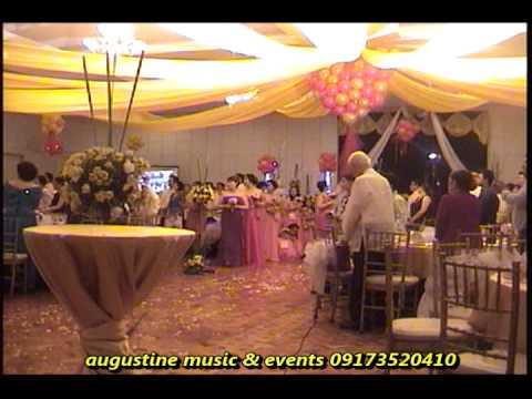Wedding Script Grand Entrance For A Golden Wedding Youtube
