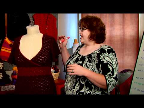 How To: Tailor-fit and Adjust Sleeves for Plus-Size Crocheted Garments