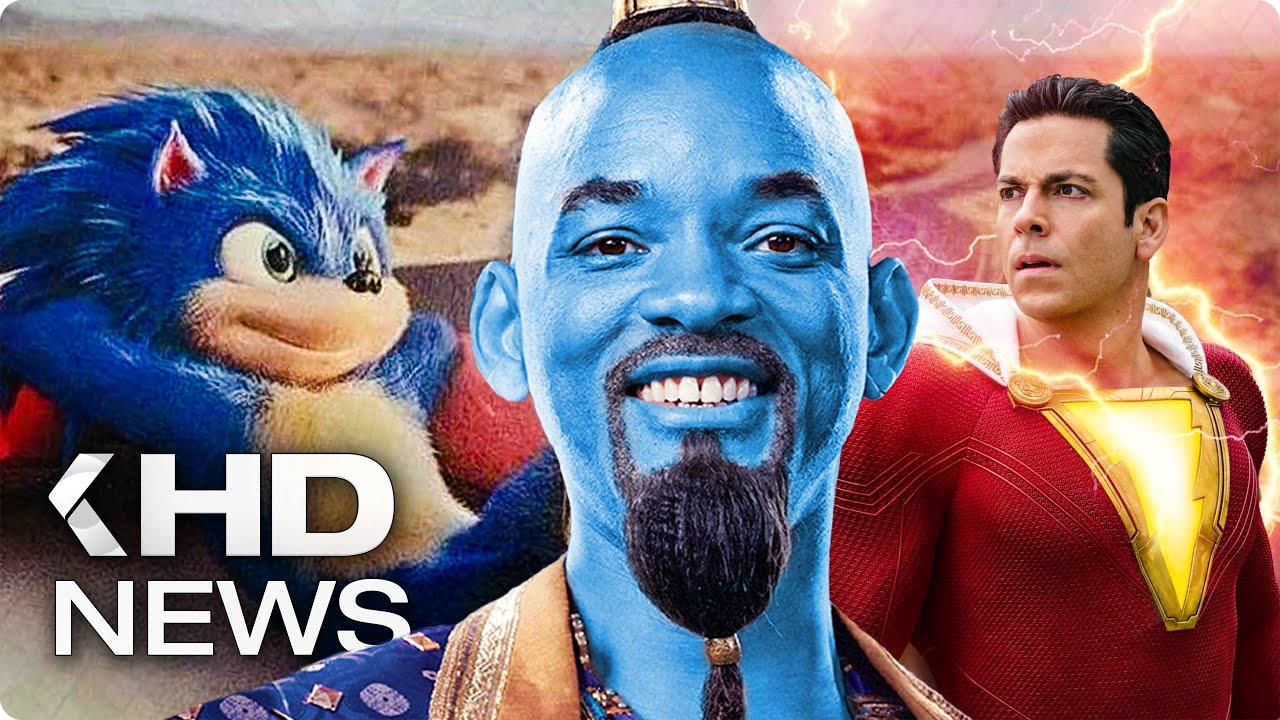 Sonic Leak, John Wick 3, Aladdin's Genie, Joker Film... KinoCheck News
