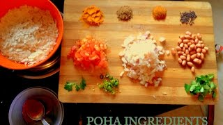 How to make Poha(flattened rice)-Easy Indian Breakfast Recipe By Ekta