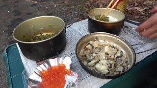 渓流ルアー釣りと外料理