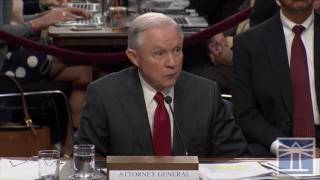 Sessions says he knows of no meetings by campaign officials and Russians | Sessions testifies