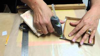 Hot Glue Gun Holder--tutorial
