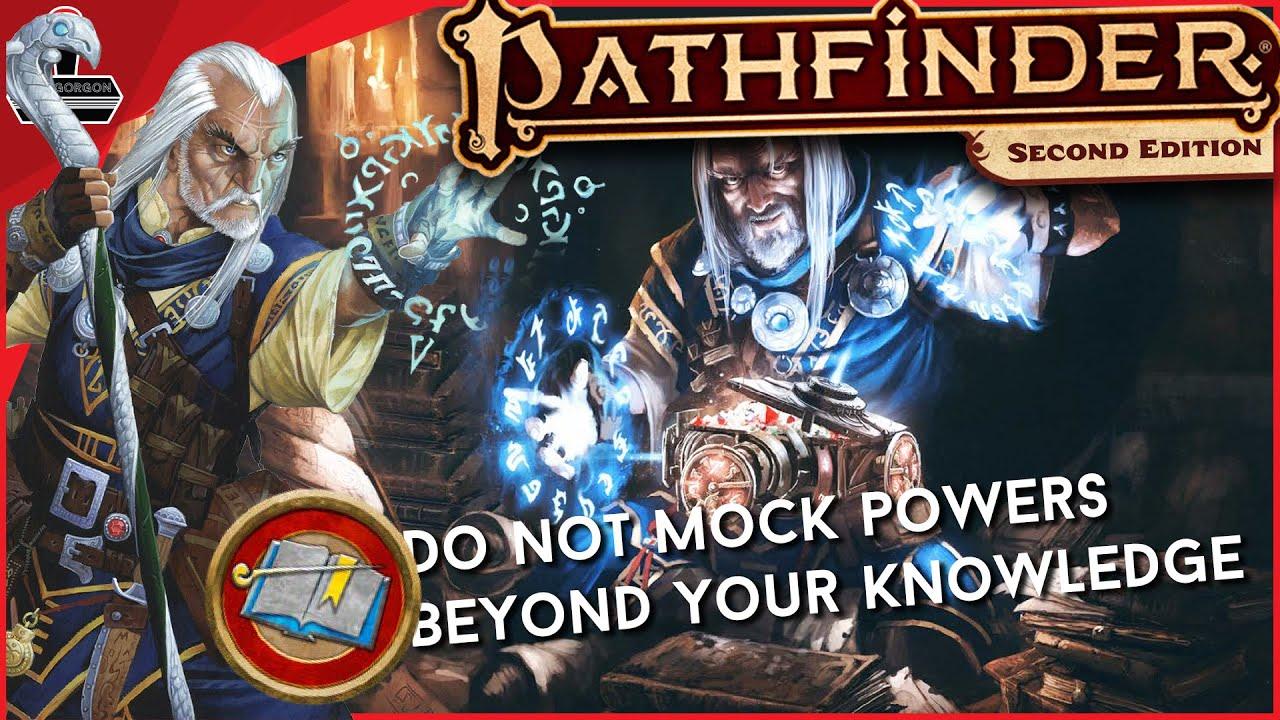 The Pathfinder 2E Wizard | GameGorgon
