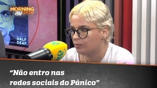 'Não entro nas redes sociais do Pânico', diz Amanda Ramalho sobre haters