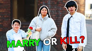 Public Marry Or Kill Challenge ! EXTREME