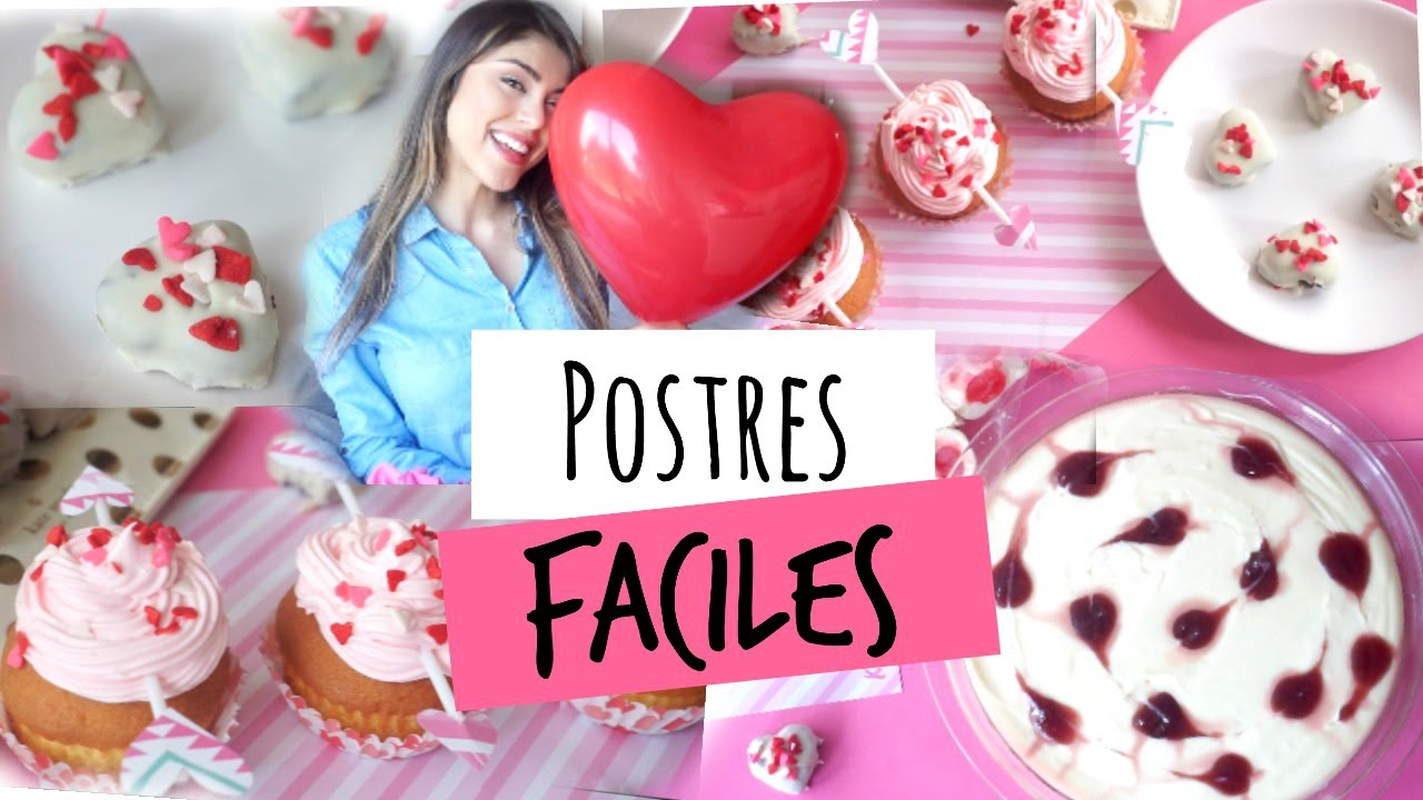 Postres para san valentin pautips youtube - Dulces de san valentin ...