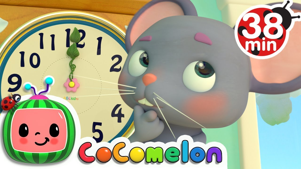 Download Hickory Dickory Dock + More Nursery Rhymes & Kids Songs - CoComelon