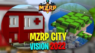 MZRP : City Development Project Started ? ( VISION 2022 ) in MINECRAFT TROLL SERIES