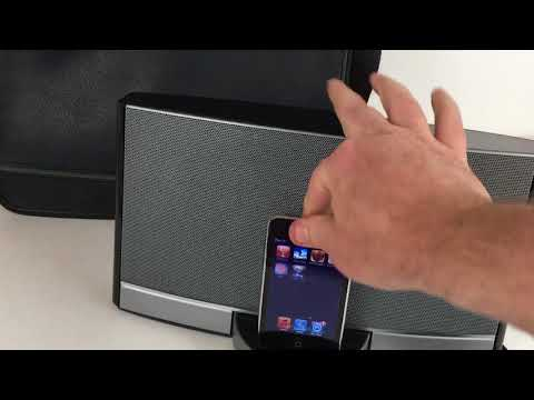 Bose Sound Dock Portable Music System w/ iPod Touch