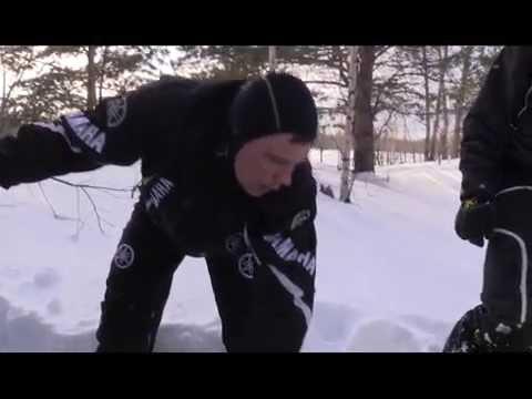 Снегоход Yamaha VK Professional II. Квадроциклы и снегоходы. Выпуск 19