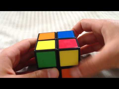 How to solve a 2x2 rubik's cube - easy