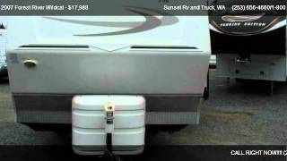 2007 Forest River Wildcat 26 ft - for sale in Bonney Lake  WA __ WE ARE RV