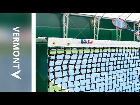 Vermont 3.5mm Double Top Tennis Net | Net World Sports