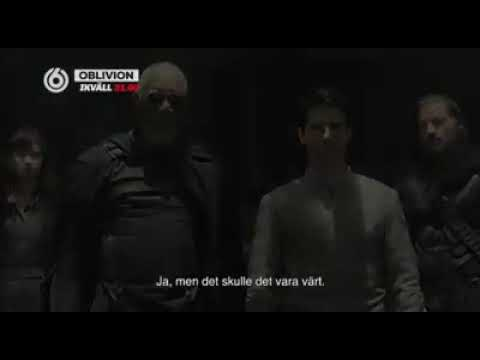 TV6 Sweden - Oblivion Movie Promo 2017 with TV Series actress of Absentia & Netflix House of Cards