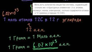 Моль и число Авогадро