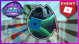 HOW TO GET THE CAPED EGGSADER IN SUPERHERO LIFE III | ROBLOX EGG HUNT 2019