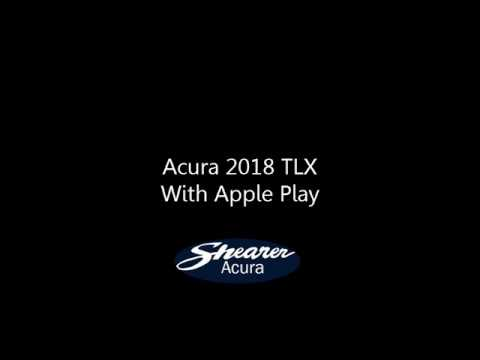 2018 acura apple carplay. Unique Acura 2018 Acura TLX  Apple CarPlay Demonstration Inside Acura Apple Carplay E