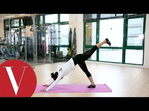 瑜珈3招雕塑下半身打擊臀腿贅肉