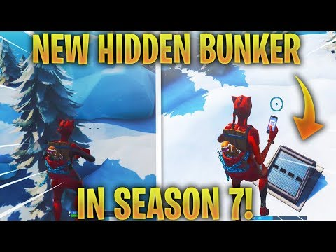 *NEW* Hidden Bunkers In Fortnite Seaon 7 You Didn't Know Got Added