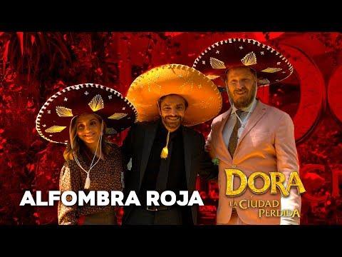 Dora y La Ciudad Perdida: Alfombra Roja