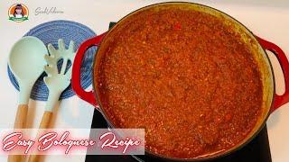Bolognese spaghetti sauce recipe | pasta sauce recipe | spaghetti sauce recipe