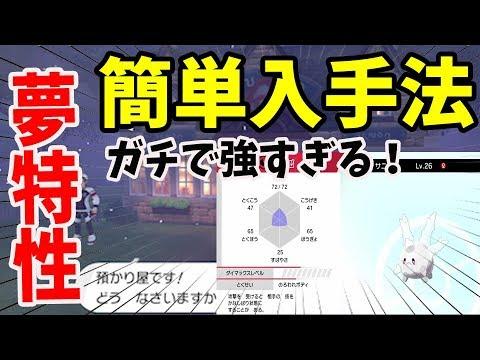 ポケモン 剣盾 夢特性