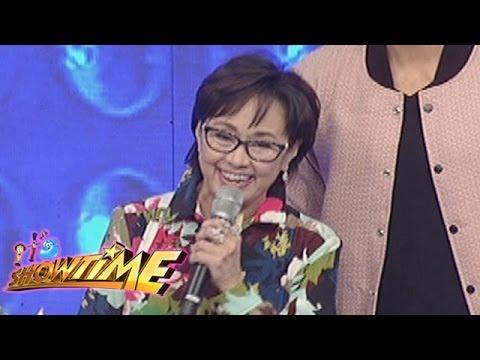 It's Showtime: Vilma Santos, Xian Lim visit It's Showtime