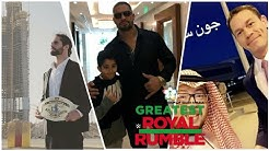 WWE Greatest Royal Rumble 2018 || Saudi Arabia Tour || Exclusive Video || Part 2 ||