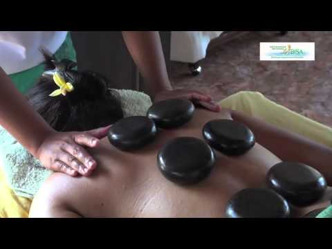 Warm Stone Massage Training at Bali BISA Spa Therapy School