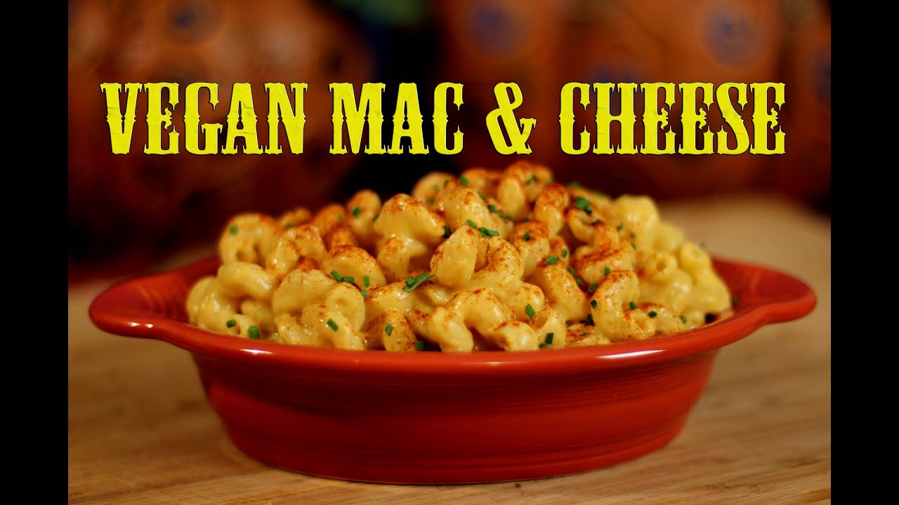 Vegan Mac and Cheese Recipe | The Vegan Zombie - YouTube