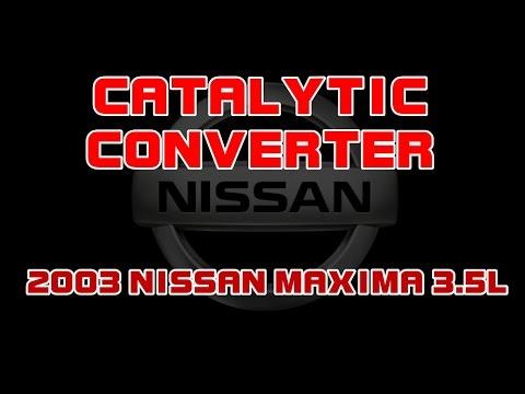 2003 Nissan Maxima 3 5 Front Catalyitc Converter Youtube