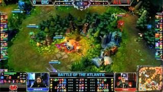 Dignitas vs Alliance Game 2 | EU vs NA Battle of the Atlantic 2013 | ALL vs DIG G2 Bo3