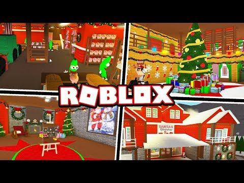 SANTA'S CHRISTMAS WORKSHOP!!! | Subscriber Tours (Roblox Bloxburg)