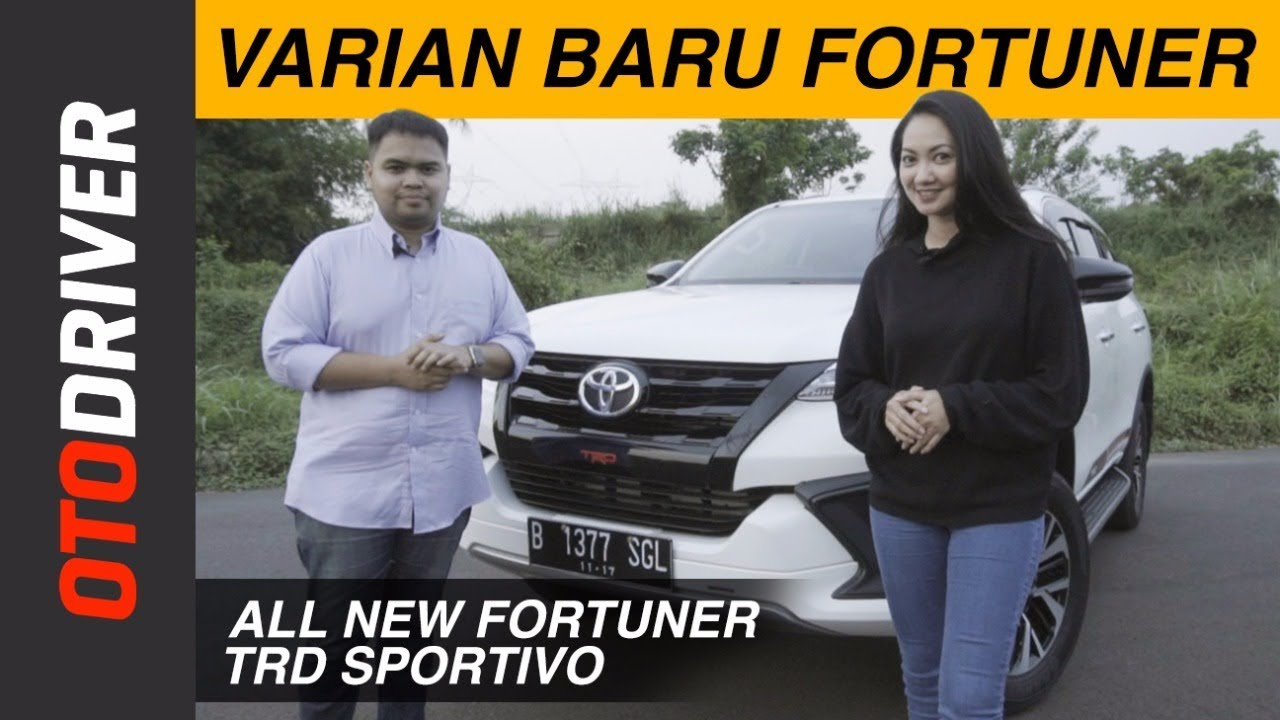 Toyota All New Fortuner TRD Sportivo 2017 Review Indonesia   OtoDriver   Supported by GG Intersport