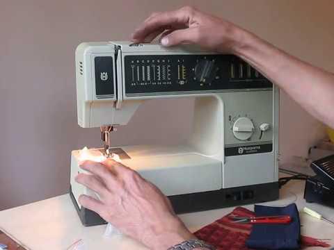 Husqvarna Classica Nähmaschine Sewing Machine Швейная машина Test Delectable Husqvarna 610 Sewing Machine