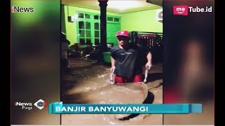 Download Video Sungai Badeng Meluap, Banjir Bandang Terjang Desa Alasmalang, Banyuwangi - iNews Pagi 26/11 MP3 3GP MP4