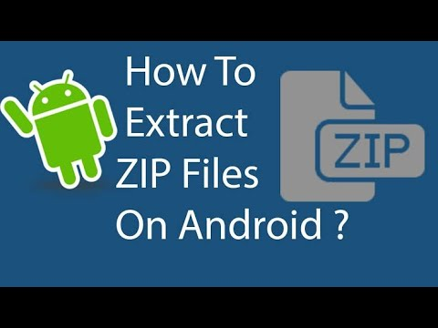 How To Open Zip / Rar Files In Android