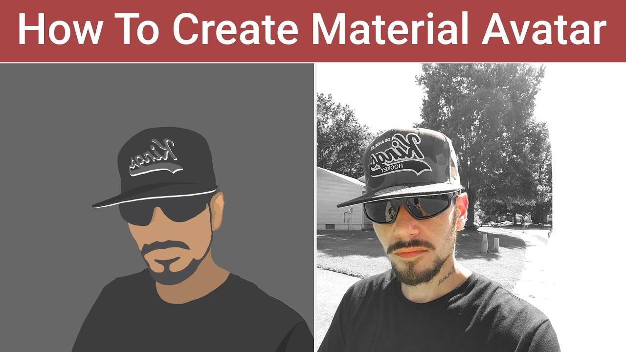 vector portrait profile image design photoshop quick tutorial
