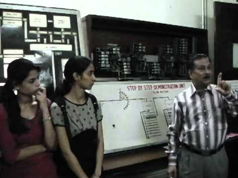 Vocational Training 2013 - Lab Demo session by Shri S K Bose GM, BRBRAITT - Part 2