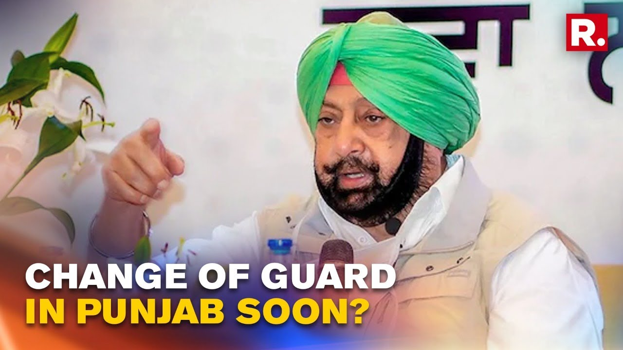 Punjab CM Capt Amarinder Calls Meeting At His Residence After Sidhu Camp  Approached High Command - YouTube